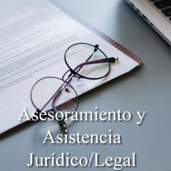 Asesoramiento y Asistencia Jurídico/Legal